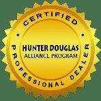 Hunter Douglas Certified Professional Dealer