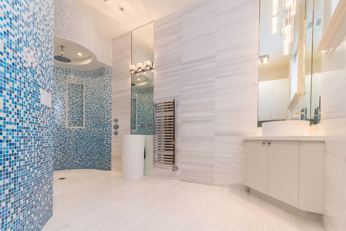 Vaughan Custom Home - Spa area by Ambience Design Group