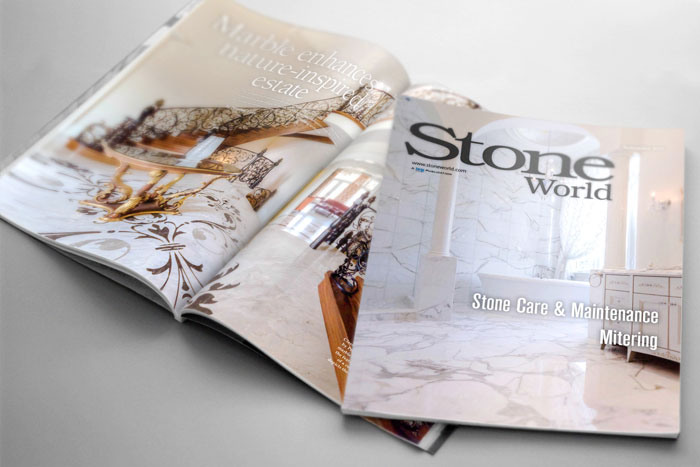 Ambience Design Group Feature in Stone World Magazine