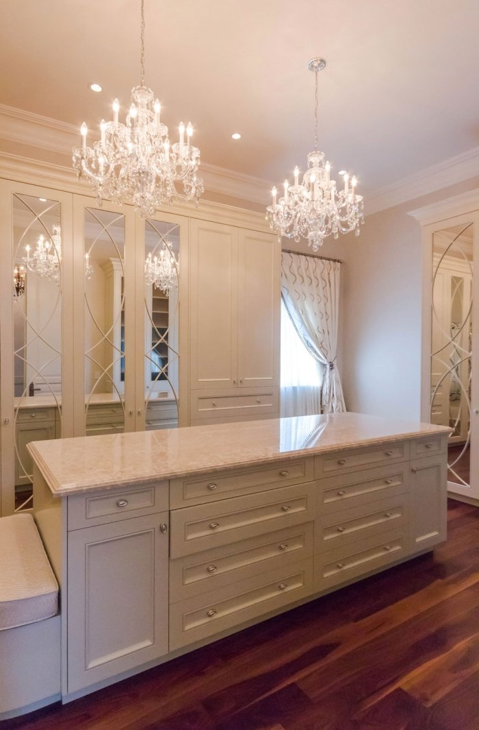 Chateau Inspired Custom Home - Walk in closet