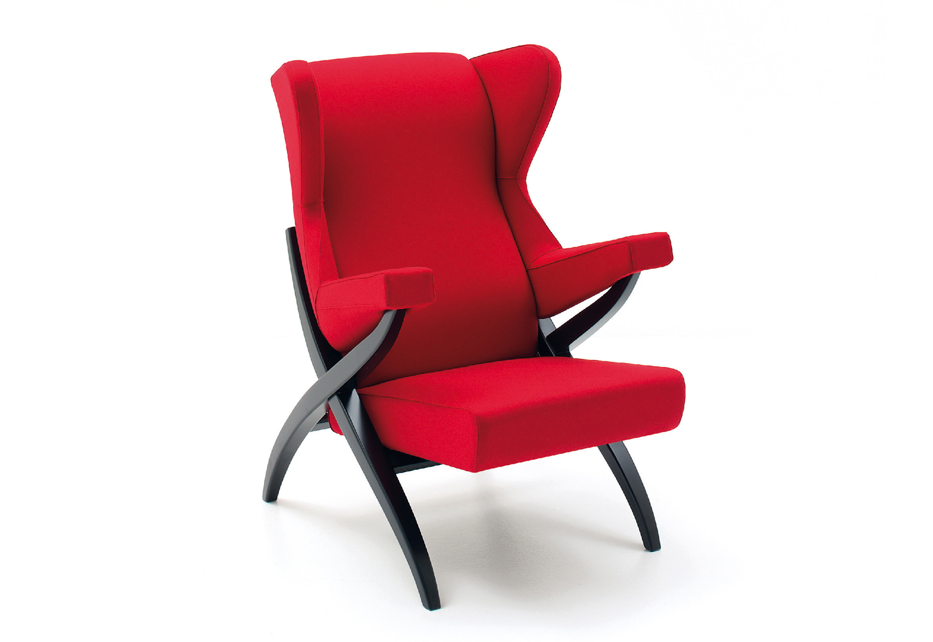 Red High Chair Extraordinaire Red High Back Lounge Chair Ambience Doré