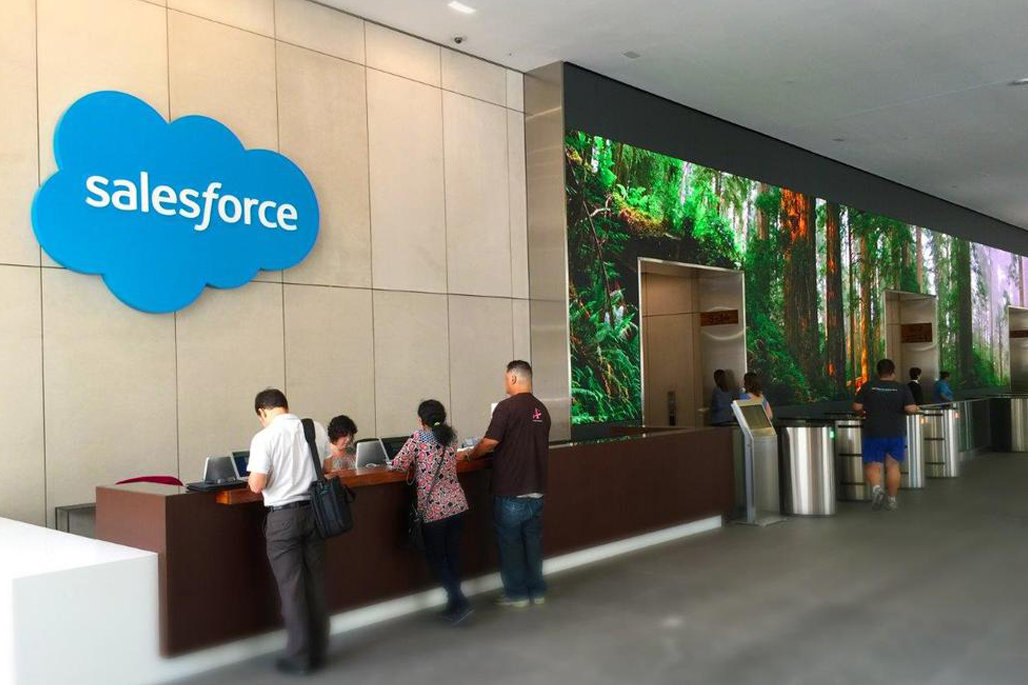 Salesforce 50 Fremont  Ambient Energy