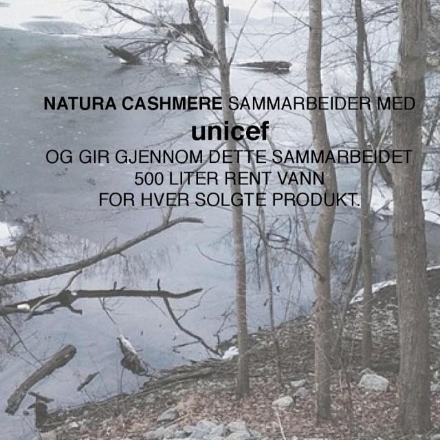 natura cashmere unicef