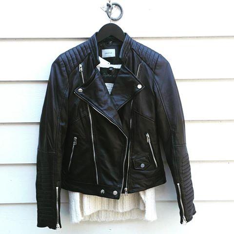 Skinnjakke Gestuz - sort / 179 electra jacket