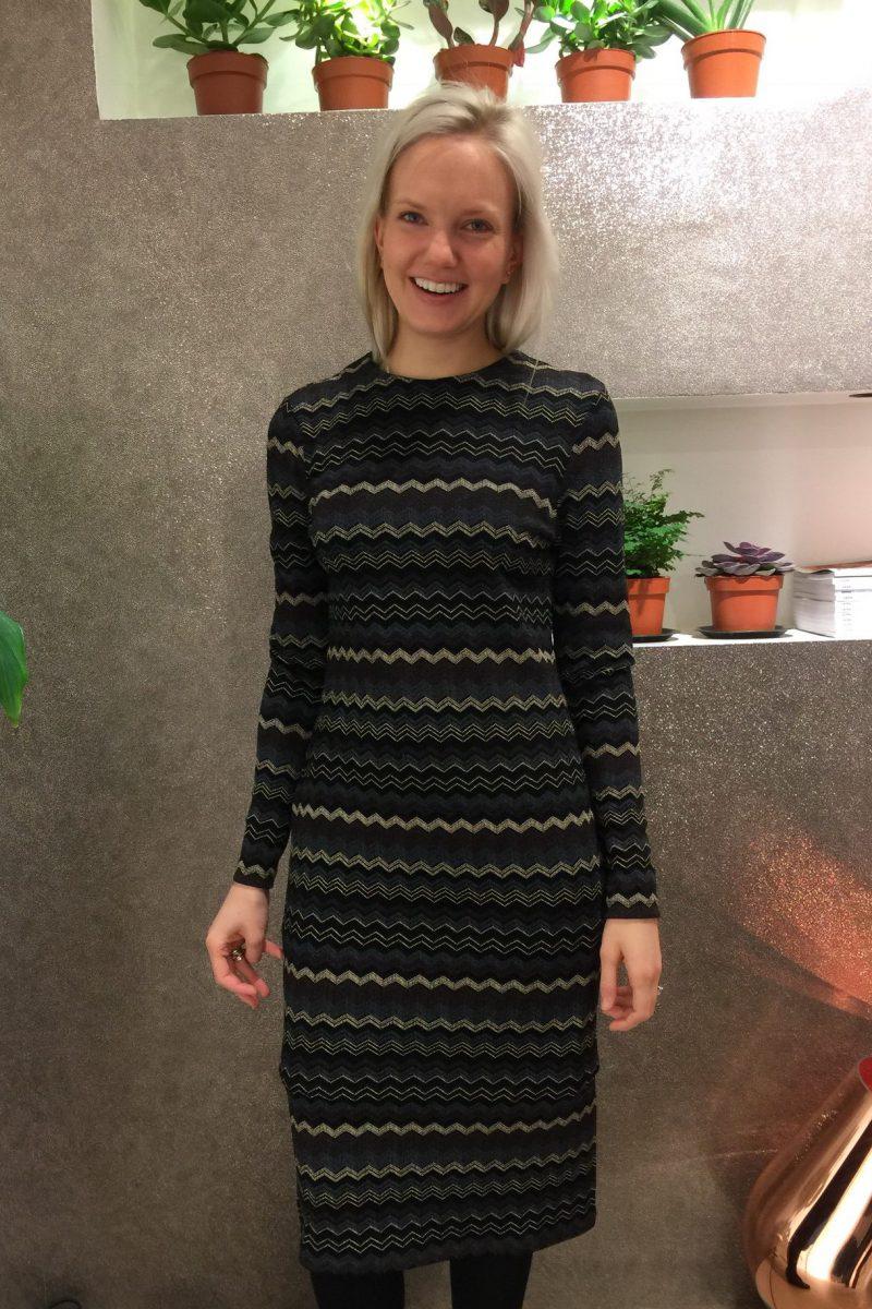Mizzoni inspirert kjole Katrin Uri - 652 Limadress