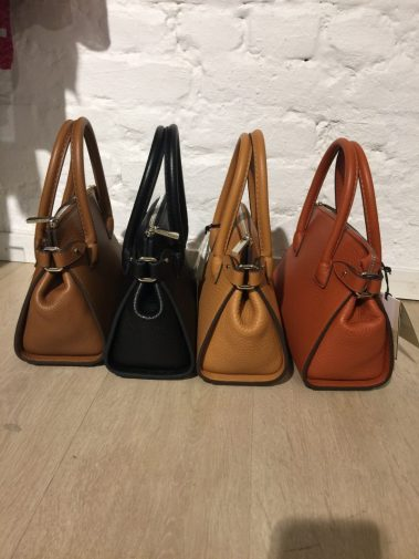 Cognac, sort, camel og 'author orange''tiny shopper' Decadent Copenhagen - 592 Adele tiny shopper
