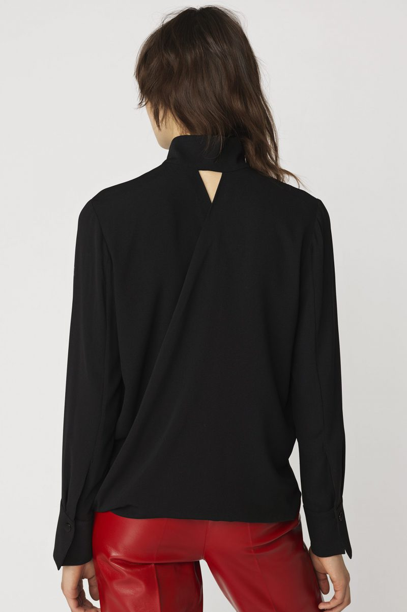 Grønn eller sort bluse By Malene Birger - q61044034 alimara