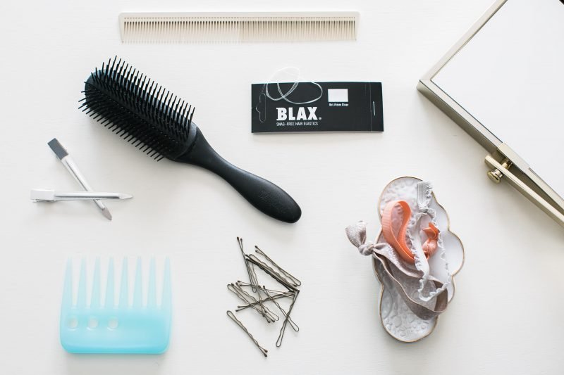 Blax hårstrikk