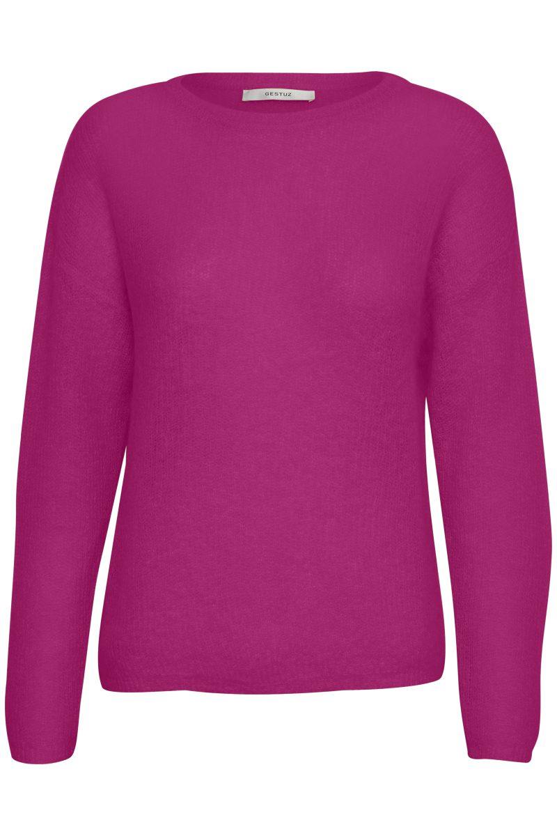 Pink genser Gestuz - molly pullover 1917
