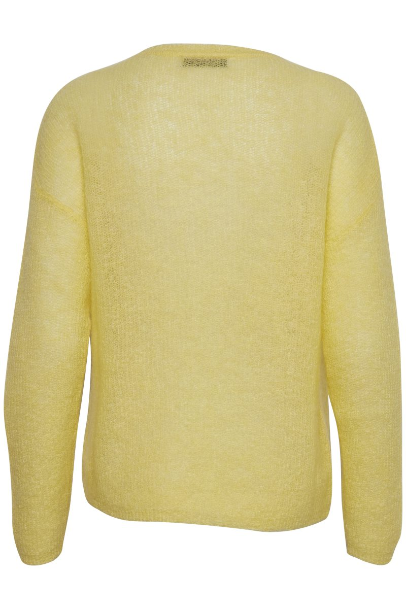 Gul genser Gestuz - molly pullover 1917
