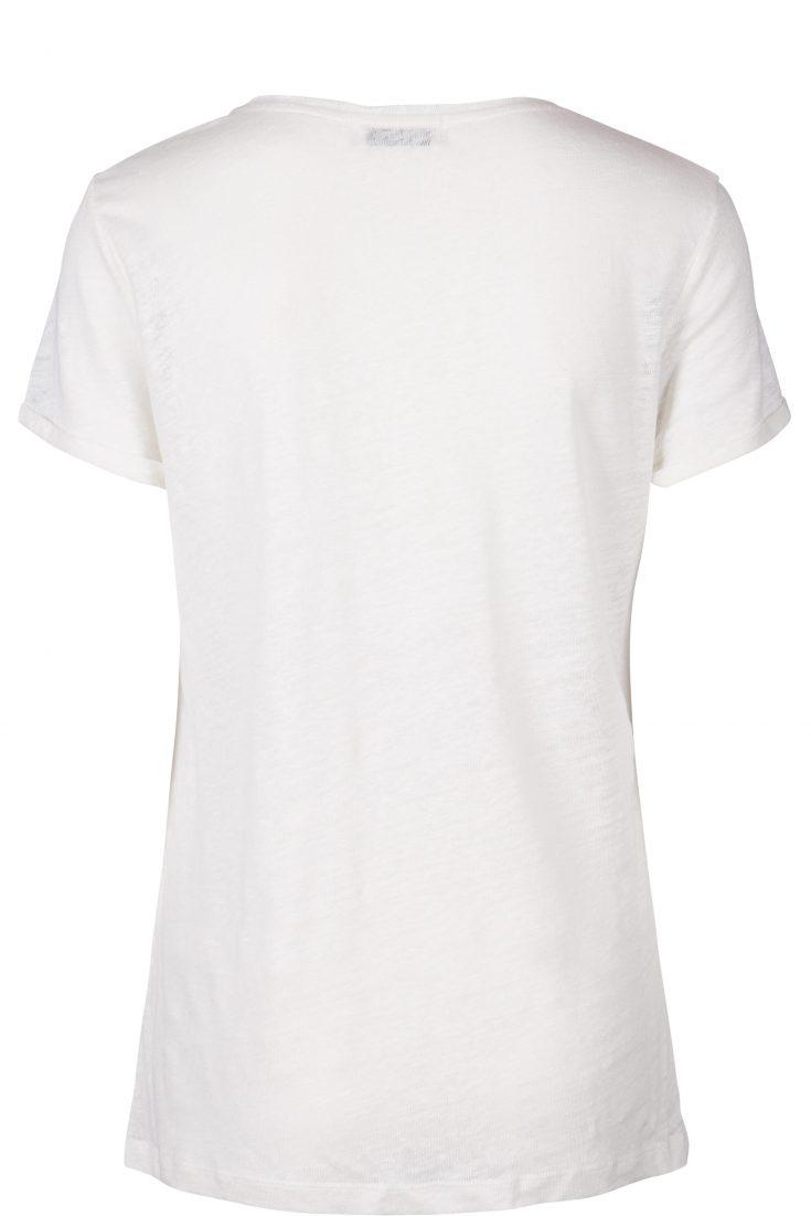 Lin t-shirt med røde 'arrows' Mos Mosh - 120930 arrow tee