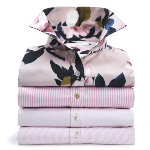 Skjorte med magnoliaprint Stenstrøms - 281228-6529-511