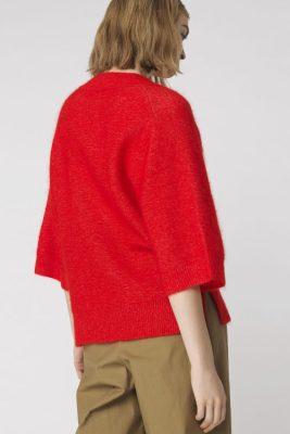 Grønn eller rød mohairgenser By Malene Birger - wanlay q56560094