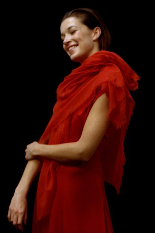 Cashmere/silke sjal Cathrine Hammel - 871.118 scarf