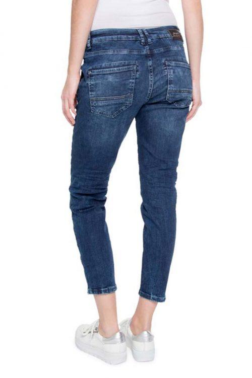 Chinos jeans med studsdekor Mos Mosh - 121720 etta shine zip 7/8