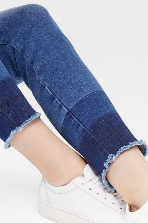 Smal lys jeans med tricolore farget ankel Mos Mosh - 121780 sumner trio