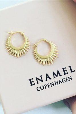'Sunrays' øredobber Enamel Copenhagen - sunrays