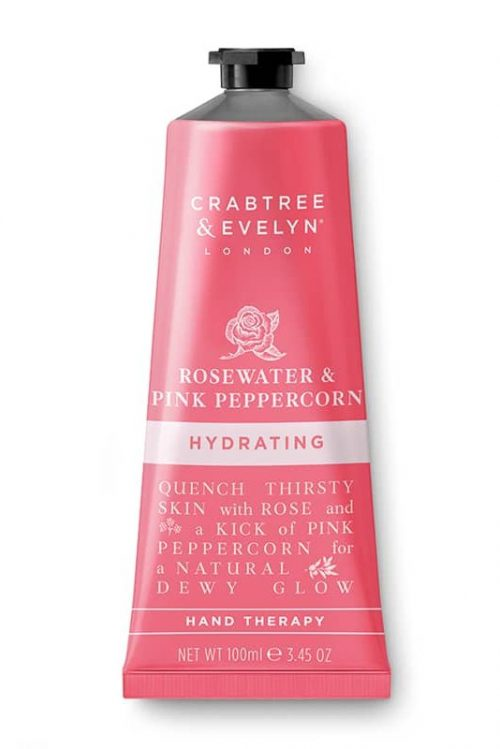 Rosewater (rosevann) & Pink Peppercorn hand therapy 100 ml Crabtree & Evelyn
