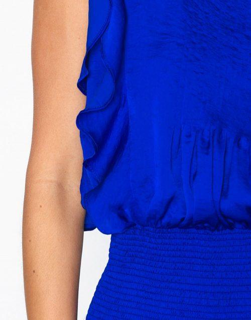 Kongeblå kjole med stretchliv Munthe - priya