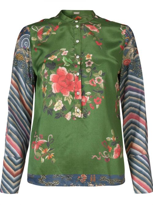 Gucci-print skjorte Gustav - 28618-7220
