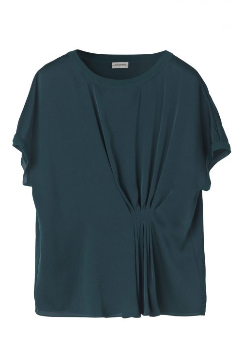 Grønn blusetopp By Malene Birger - LINARAMMA-TOP-Q62305023_4Y3