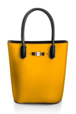 Gul 'Popstar' shopper Save my Bag - 10230N-LY-TU RABAT Yellow Ocher