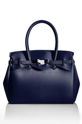 Dark blue 'Miss metallic' bag Save my Bag - 10204N-LY-ME PRELUDIO