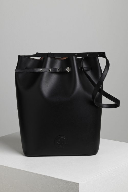 Sort eller brun skinn 'Ema Bucket Bag' By Malene Birger - Ema Bucket bag - Q66987003