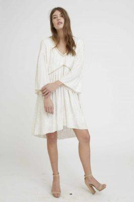 Ecru kjole Nekane - remilly gh