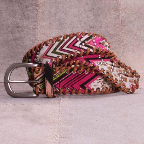 Multifarget pink belte Bæltekompagniet - BK816-10