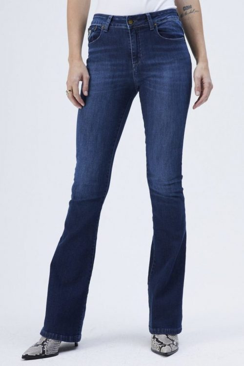 Dark stone 'Raval' flare jeans Lois Jeans