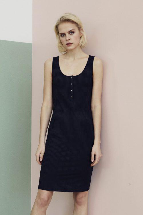 Sort kjole Gestuz - 3364 arienne gz short dress