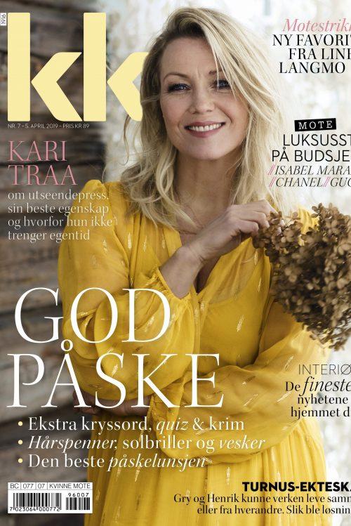 Gul viskose maxikjole Katrin Uri - 683 positano maxi dress