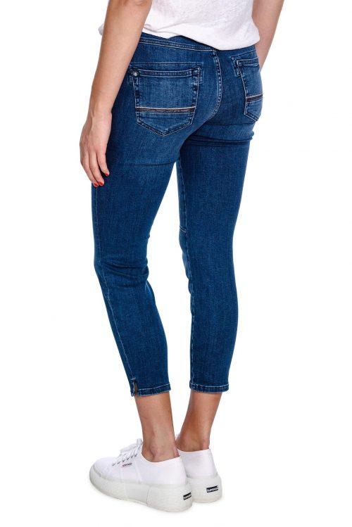 7/8 jeans med pynt på lomme Mos Mosh - 126590 naomi muscat 7/8 jeans