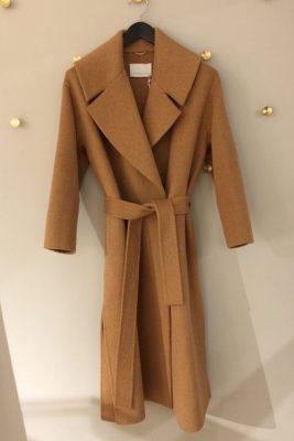 Camel alpakkamix uforet kåpe One & Other - copenhagen coat