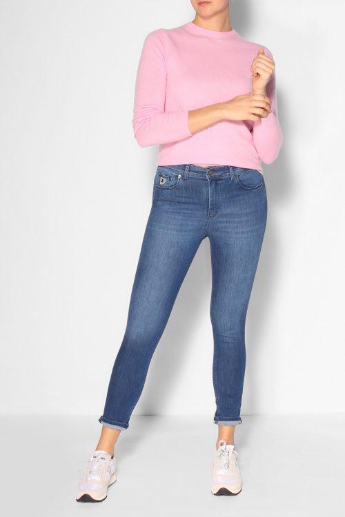 Smal supermyk tynn jeans 'Celia' Lois Jeans - Celia leia teal L32/L34