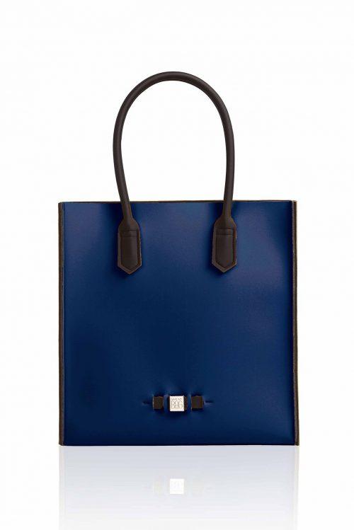 Shopper 'Le Sac' i mange farger. Laget av neopren og veier ingenting Save My Bag - Le Sac BLU-SCURO