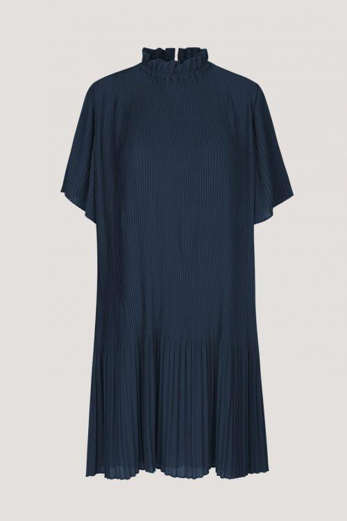 Sort plissé kjole Samsøe - 6621 malie ss dress