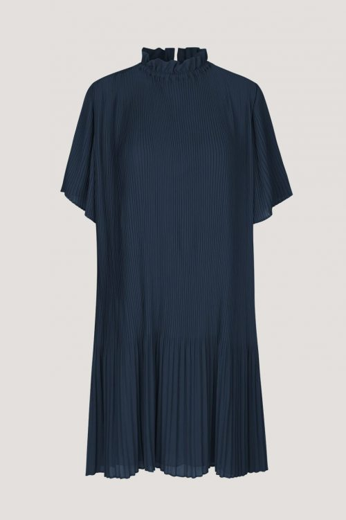 Sort plissé kjole Samsøe - 6621 malie ss dress