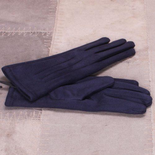 Brun, dus rosa, blå, grønn eller sort hansker med touch fra Bæltekompagniet - vante 10