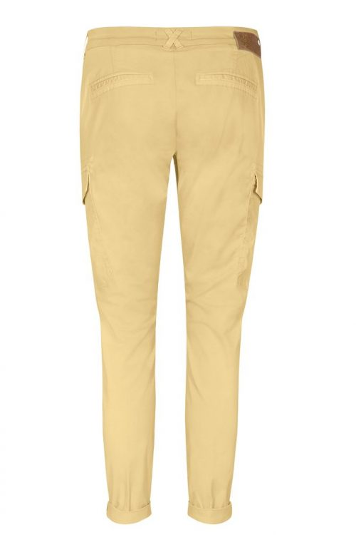 Supertrendy army eller dus rosa (ikke gul) cargobukse Mos Mosh - 132730 Abbey Paper Cargo Pant