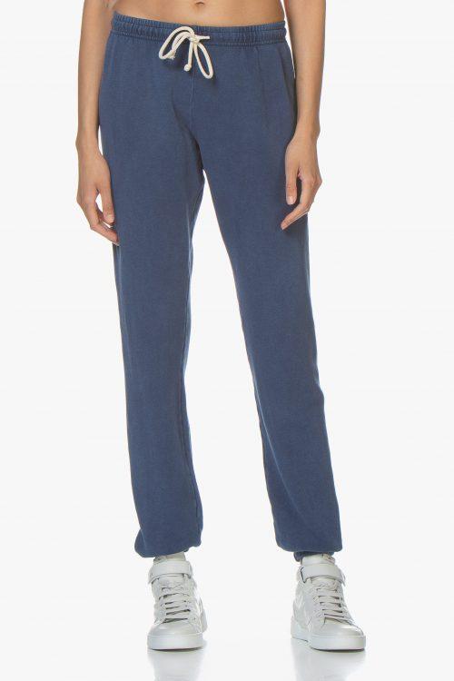 Vintage blue sweatpants American Vintage - hapy89 vintage (98% bomull, 2% elastan)