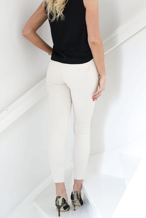 Ecru canvas dressbukse med dekor ved lomme Mos Mosh - 132350 blake rich jeans