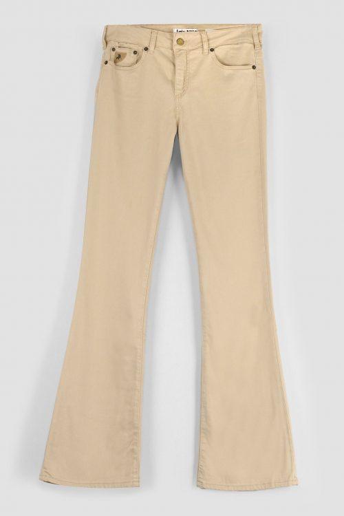 Nude (pudder), beige, marine og hvit 'Raval' flare bukse (uten frynser!) Lois Jeans - Lacix Fresh Raval 2007-6045 L32 og L34