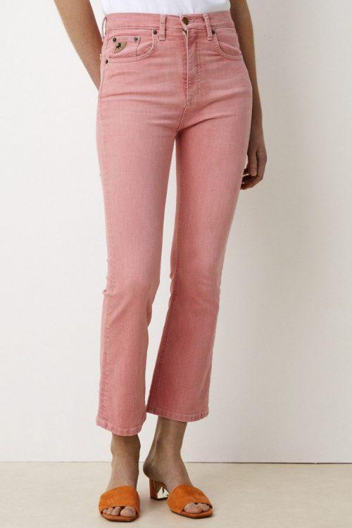 Geranium rosa cropped bootcut bukse Lois Jeans - mariela 2398-5992 cassidy color L32 cropped
