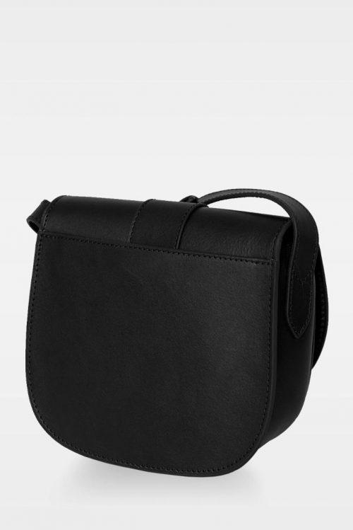 Cognac eller sort liten crossover sadel-veske i vegital skinnkvalitet Decadent Copenhagen - 230 trisha satchel bag