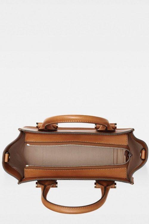 Cognac liten corporate veske Decadent Copenhagen - 286 lynette small tote