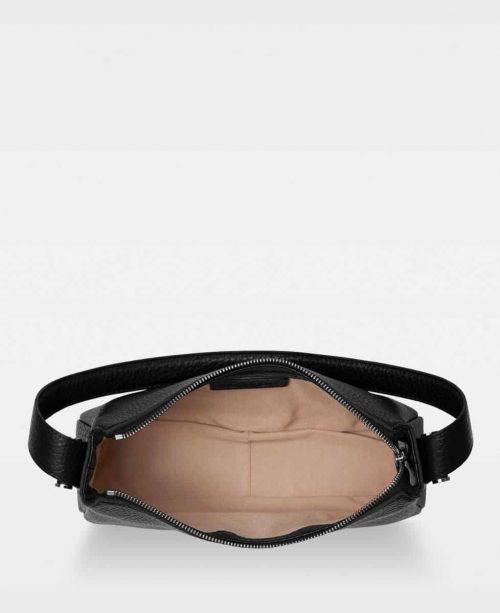 Sort eller sand 'Janine baguette bag' Decadent - 717 Janine baguette bag Bredde/høyde/dybde: 26/14/8 cm