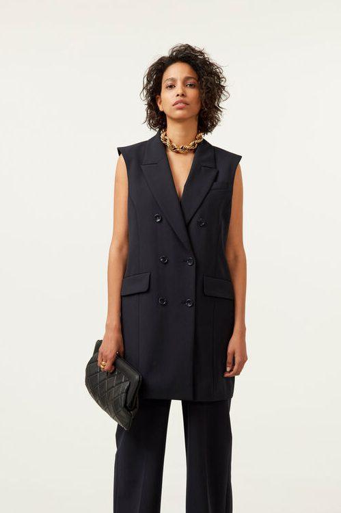 Ullmiks blazervest (kjole) Gestuz - 10904817 magrethe waistcoat