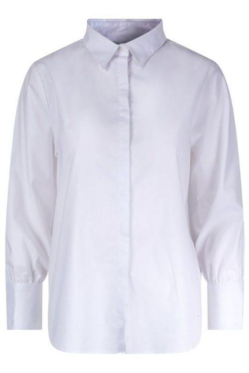 Hvit basic bomull skjorte Ella&Il - lisa